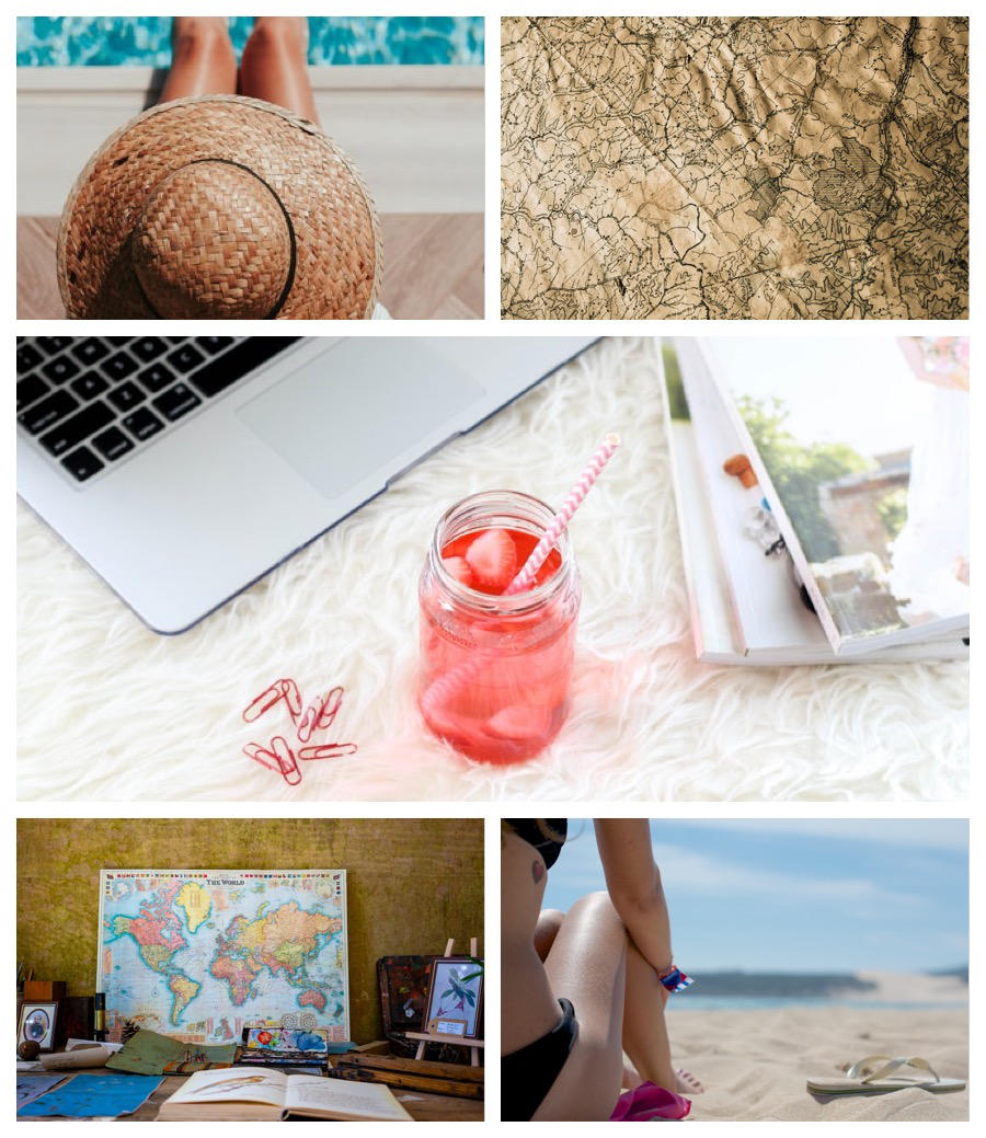 Travel Agent Coaching Collage